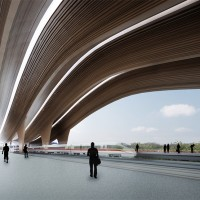 High Speed Train Station (Competition Winners)
